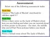The Lady of Shalott (slide 129/144)