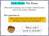 The Lady of Shalott (slide 135/144)