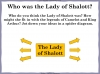 The Lady of Shalott (slide 18/144)