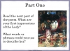 The Lady of Shalott (slide 39/144)