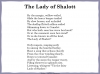 The Lady of Shalott (slide 40/144)