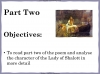 The Lady of Shalott (slide 52/144)