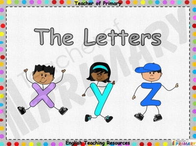 The Letters X Y and Z