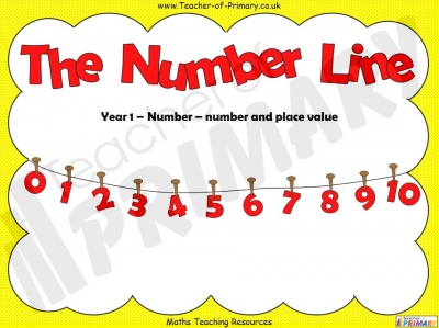 The Number Line - Year 1