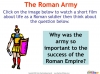 The Roman Army (slide 4/14)