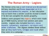 The Roman Army (slide 5/14)