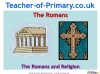 The Romans and Religion (slide 1/12)