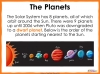 The Solar System - Year 5 (slide 5/46)