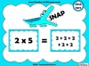 Two Times Table Snap (slide 10/26)