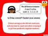 Understanding Negative Numbers - Year 6 (slide 20/25)