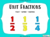 Unit Fractions - Year 2 (slide 1/35)