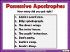 Using the Apostrophe (slide 8/12)