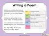Using the Senses (Year 1 Poetry Unit) (slide 52/58)