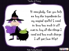 Wanda Witch's Spells - Money Problems (slide 3/23)