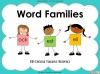 Word Families - KS1