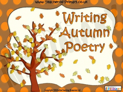 Writing Autumn Poetry