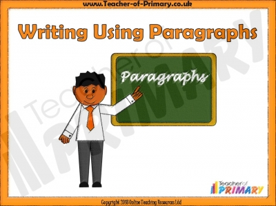 Writing Using Paragraphs