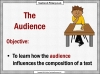Writing for Different Audiences (slide 2/10)