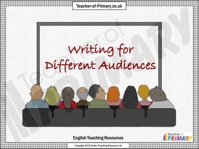 Writing for Different Audiences