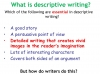Writing to Describe (slide 4/42)