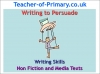 Writing to Persuade (slide 1/71)