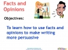 Writing to Persuade (slide 35/71)