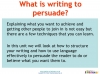Writing to Persuade (slide 6/71)