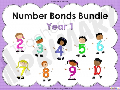Year 1 Number Bonds Bundle