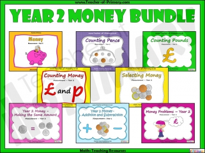 Year 2 Money Bundle teaching resource