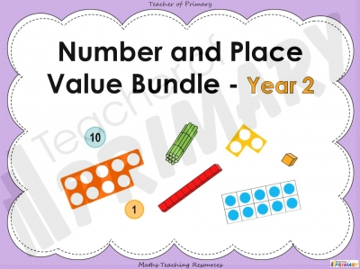 Year 2 Number and Place Value Bundle