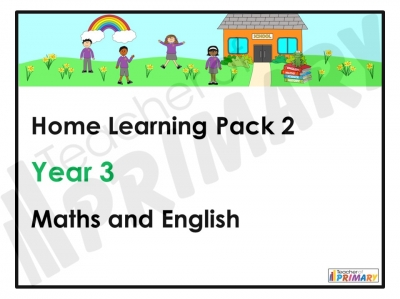 Year 3 Home Learning Pack 2