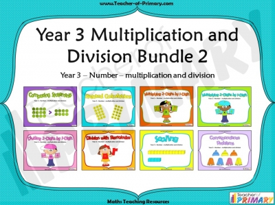 Year 3 Multiplication and Division Bundle 2