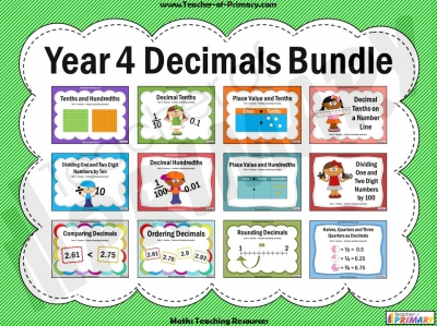 Year 4 Decimals Bundle
