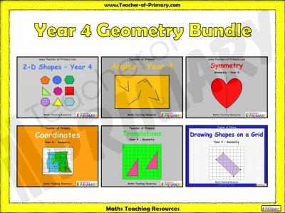 Year 4 Geometry Bundle