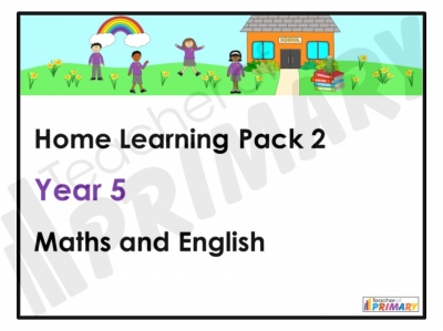 Year 5 Home Learning Pack 2
