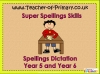 Year 5 and Year 6 Spring Term Spellings (slide 1/31)